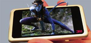 Sharp prepara pantallas 3D para los móviles