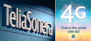 TeliaSonera estrena la primera red 4G