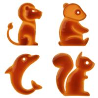 Ardilla, panda, león y delfín: Orange lanza un zoo de tarifas