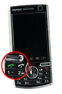 Anycool, el móvil que funciona simultáneamente con dos líneas