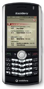 Vodafone lanza el primer BlackBerry multimedia