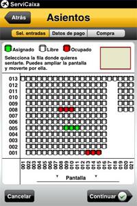 Ya es posible comprar entradas desde el iPhone