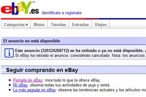 eBay cancela la subasta del HTC G1 que organizó simyo