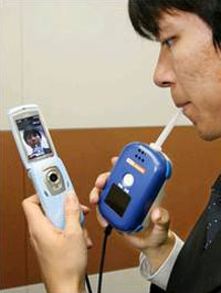 Un móvil delata a los conductores ebrios en Japón
