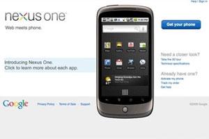 Google presenta oficialmente el Nexus One
