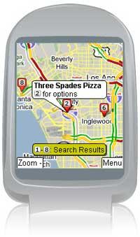 Google ofrece mapas con datos de tráfico para móviles