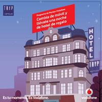 Vodafone regala noches de hotel por usar el programa de puntos