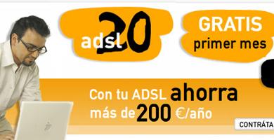 Jazztel imita la oferta de Vodafone ADSL