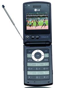 LG presenta un móvil con TDT integrada