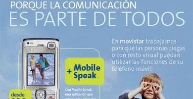 Movistar presenta una aplicación para invidentes