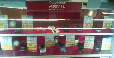 En enero sólo se portaron 236 líneas a Carrefour Móvil y Happy Móvil
