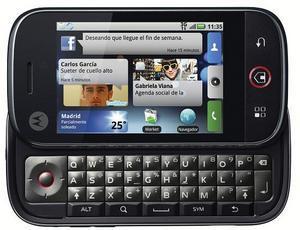 Movistar venderá el Dext, el primer Motorola con Android