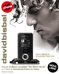 Pepephone lanza el móvil de David Bisbal