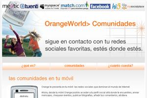 Orange estrena el servicio MySocialPlace, para unificar las redes sociales