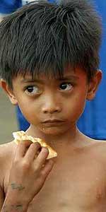 Algunos desaprensivos tratan de comprar huérfanos de la catástrofe