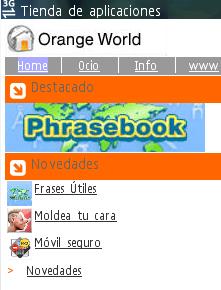 Orange abrirá su tienda aplicaciones en 2010