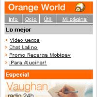 Más subidas: Orange aumenta un 20% el acceso a su portal Wap