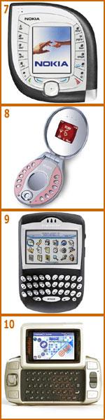 Top 10 de diseños clásicos de móvil