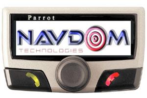 Parrot lanza un manos libres para el coche con alarma antirrobo