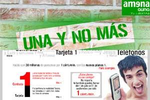 Vodafone y Amena contraatacan a Movistar lanzando nuevas tarifas promocionales