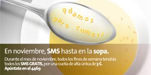 Movistar lanza una tarifa plana de SMS para los viernes y fines de semana de noviembre