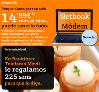 Bankinter móvil financia el netbook Acer D250