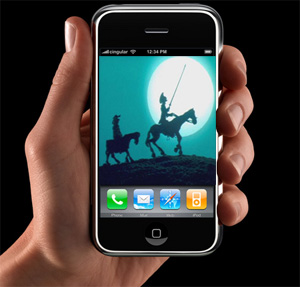 Los clásicos de la literatura, en el móvil