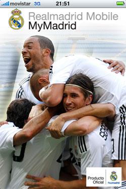 El Real Madrid crea la aplicación para móvil MyMadrid