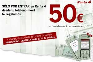 Movistar y Renta4 lanzan una aplicación de broker para móviles