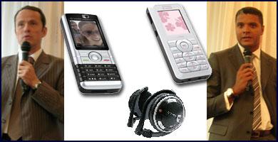 Sagem presenta seis nuevos móviles y tres accesorios