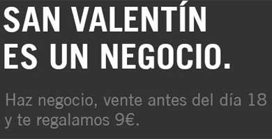 Yoigo descuenta 9 euros por San Valentín