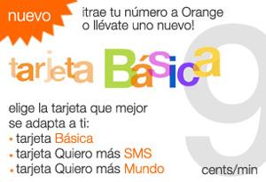 Orange ofrece tres nuevas tarifas prepago