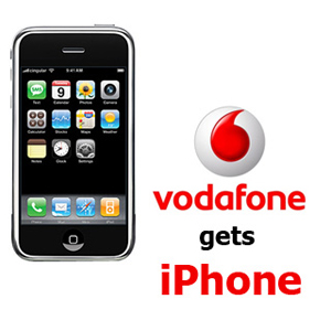 Vodafone también venderá el iPhone en Reino Unido