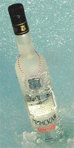 Un productor permite comprobar vía SMS si su vodka es de garrafón