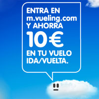 Vueling venderá billetes de avión más baratos desde el móvil