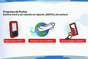 Los vuelos gratis de Vodafone cuestan casi 100euros