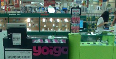 Yoigo también se vende en los hipermercados Alcampo