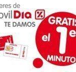 Promoción MovilDia: primer minuto gratis entre el 1 de diciembre de 2010 y el 1 de febrero de 2011.