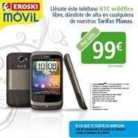 HTC Wildfire con Eroski Móvil