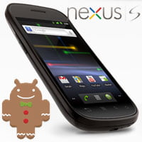 Google Nexus S con Android 2.3 Gingerbread