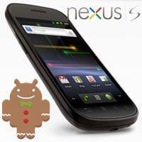 Google Nexus S con Android 2.3 Gingerbread