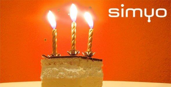 Simyo cumple 3 años en España