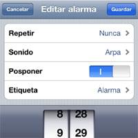 Alarma para iPhone