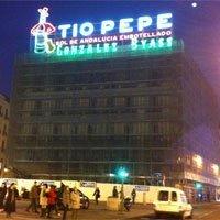 Edificio Tío Pepe de la Puerta del Sol, 1, en Madrid