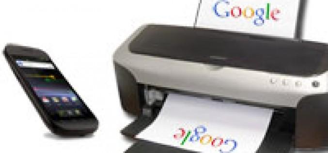 Google permite imprimir desde smartphones