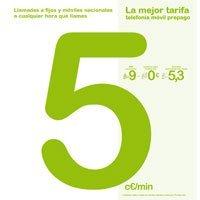 Tarifa prepago de 5 céntimos de Hits Mobile