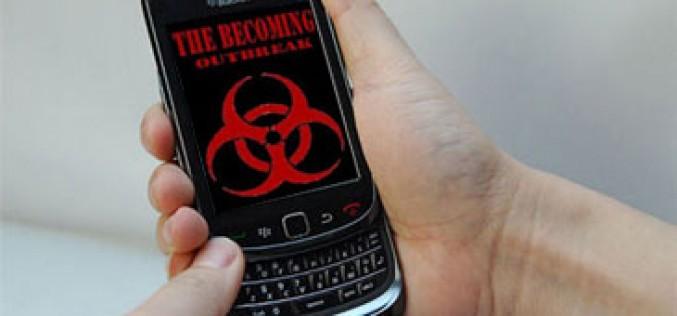 'The Becoming: Outbreak', una novela de zombies escrita con BlackBerrys