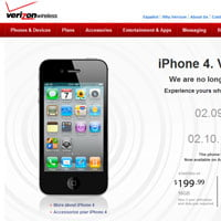 Apple iPhone 4 para Verizon Wireless