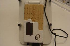 Smartphone con forma de galleta