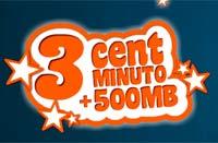 Tarifa 3 céntimos de simyo